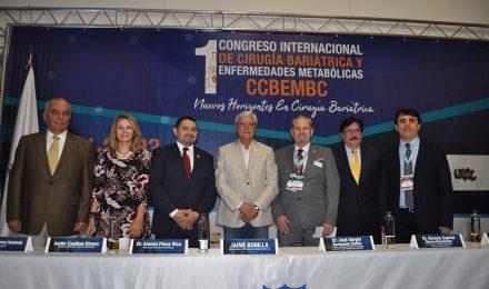 Todo un éxito el 1er. Congreso Internacional de Cirugía Bariátrica y Enfermedades Metabólicas